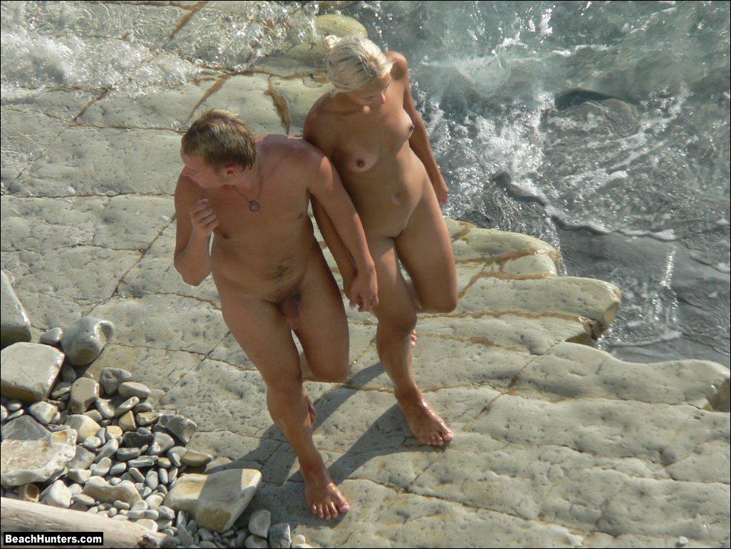 sex Naked beach on nude