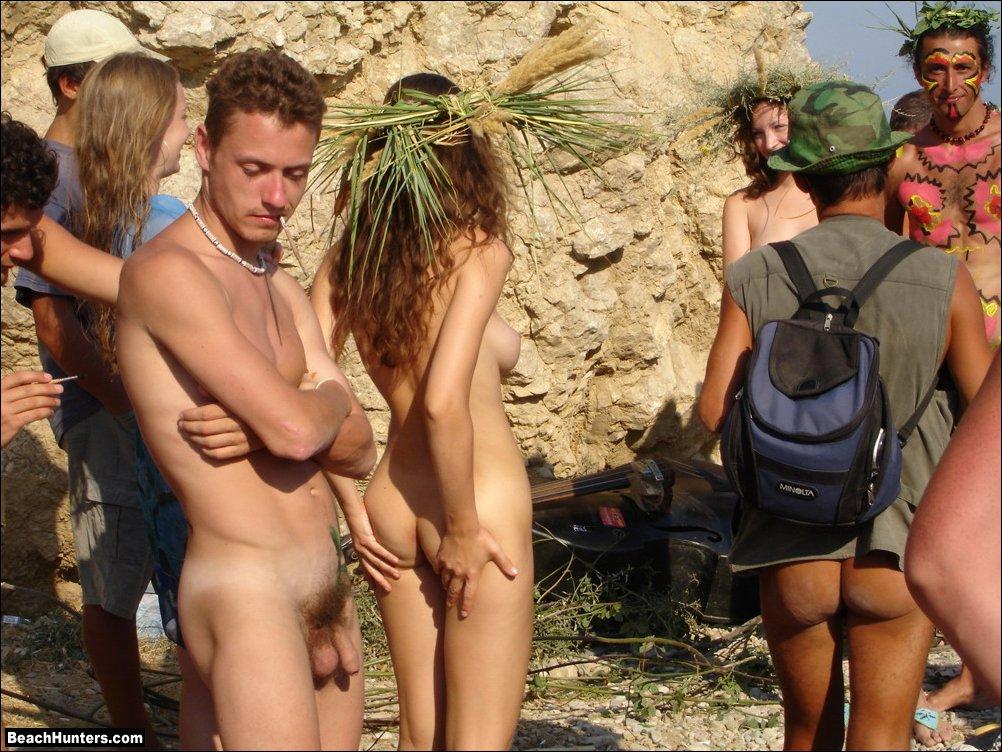 Holidays nude nudist