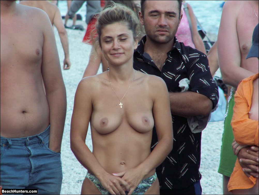 With Actor naked on the beach sorry