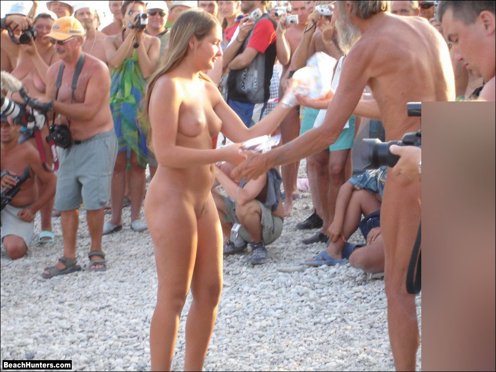 Beach porn nudist consider