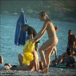 Porn Pictures - BeachHunters.com - Naturist Voyeur Beach