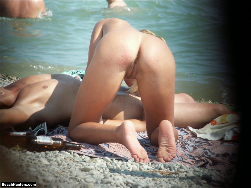 Nudist beach spycam
