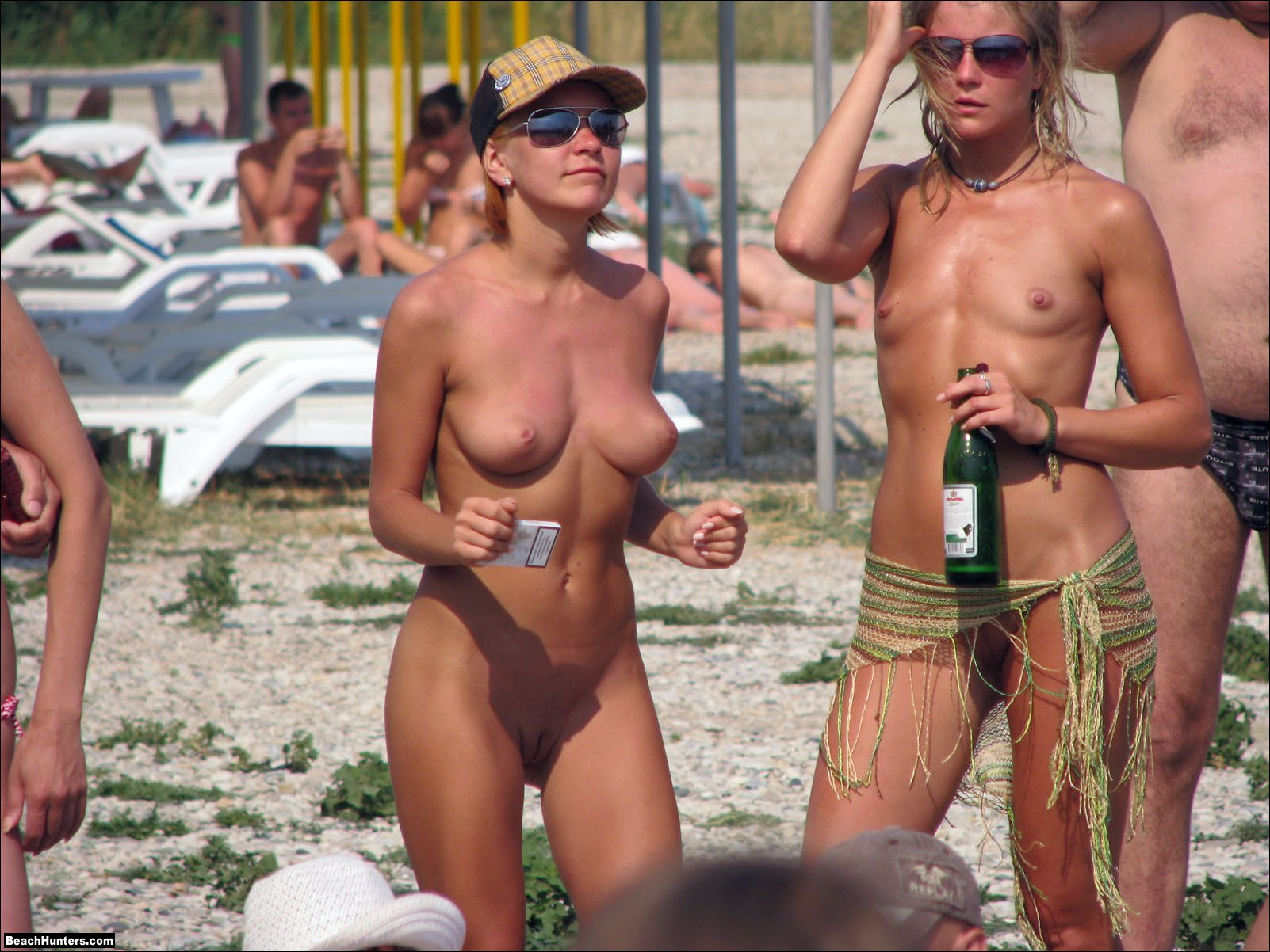 players beach Nude girls volleyball