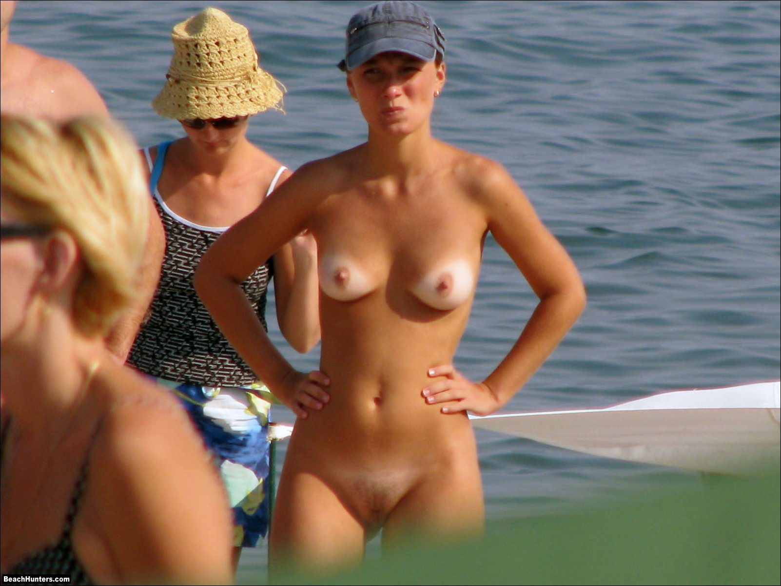 Naked on the beach videos