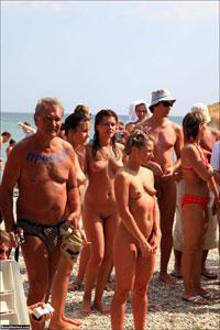 nudist festival
